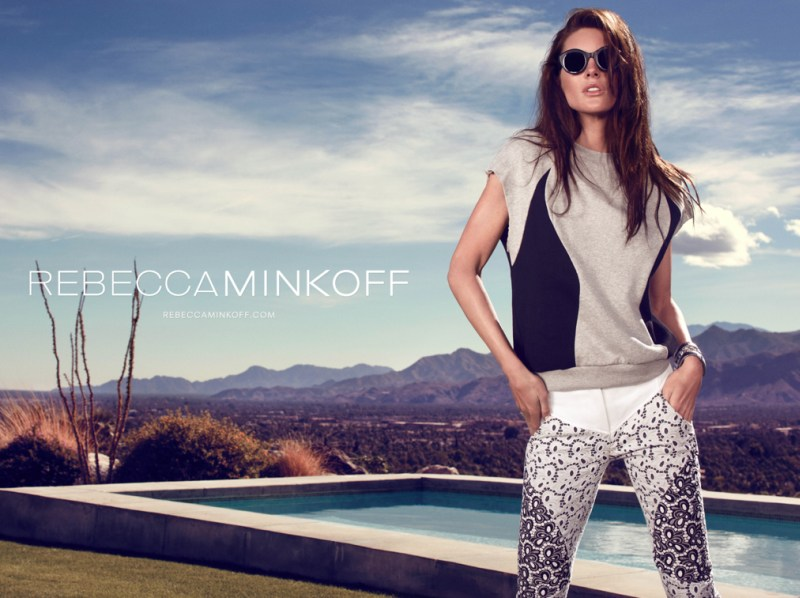 rebecca minkoff hilary rhoda1 Hilary Rhoda Takes to Palm Springs for Rebecca Minkoff Spring 2013 Campaign