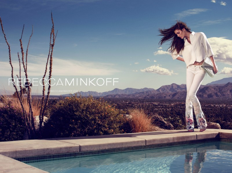 rebecca minkoff hilary rhoda2 Hilary Rhoda Takes to Palm Springs for Rebecca Minkoff Spring 2013 Campaign