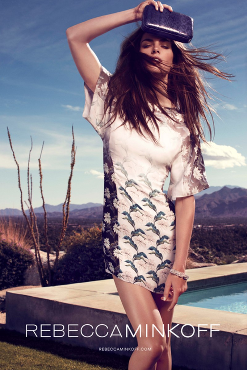 rebecca minkoff hilary rhoda3 Hilary Rhoda Takes to Palm Springs for Rebecca Minkoff Spring 2013 Campaign