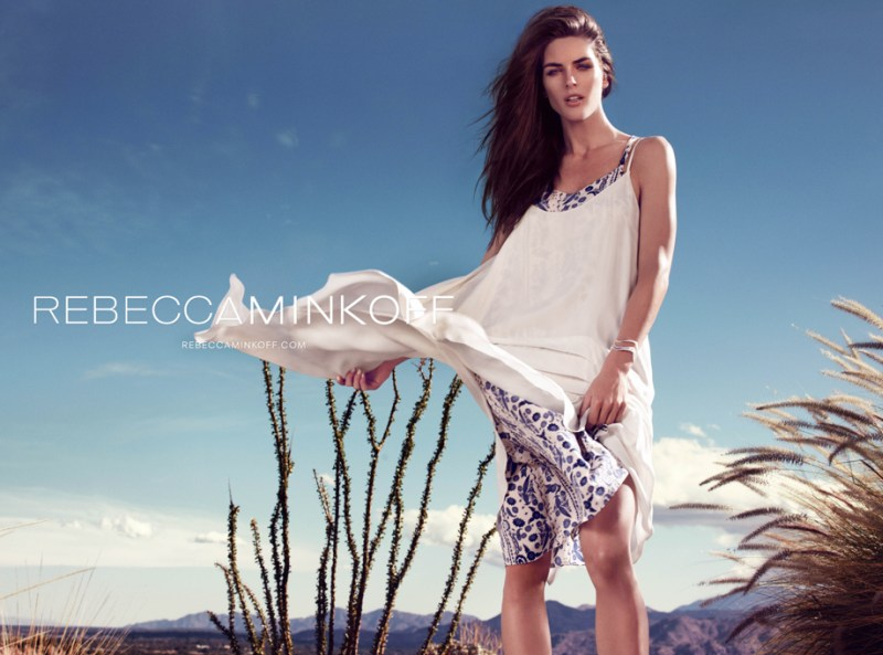 rebecca minkoff hilary rhoda4 Hilary Rhoda Takes to Palm Springs for Rebecca Minkoff Spring 2013 Campaign