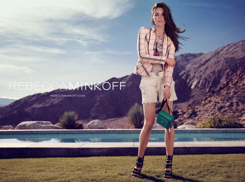 rebecca minkoff hilary rhoda5 Hilary Rhoda Takes to Palm Springs for Rebecca Minkoff Spring 2013 Campaign