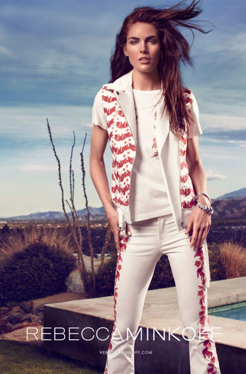 Hilary Rhoda Takes to Palm Springs for Rebecca Minkoff Spring 2013 Campaign