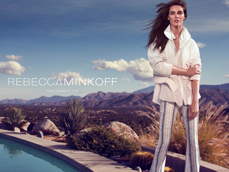 rebecca minkoff hilary rhoda8 Hilary Rhoda Takes to Palm Springs for Rebecca Minkoff Spring 2013 Campaign