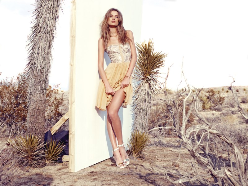 Bregje Heinen Takes to Joshua Tree for Revolve Clothing's Spring 2013 Lookbook