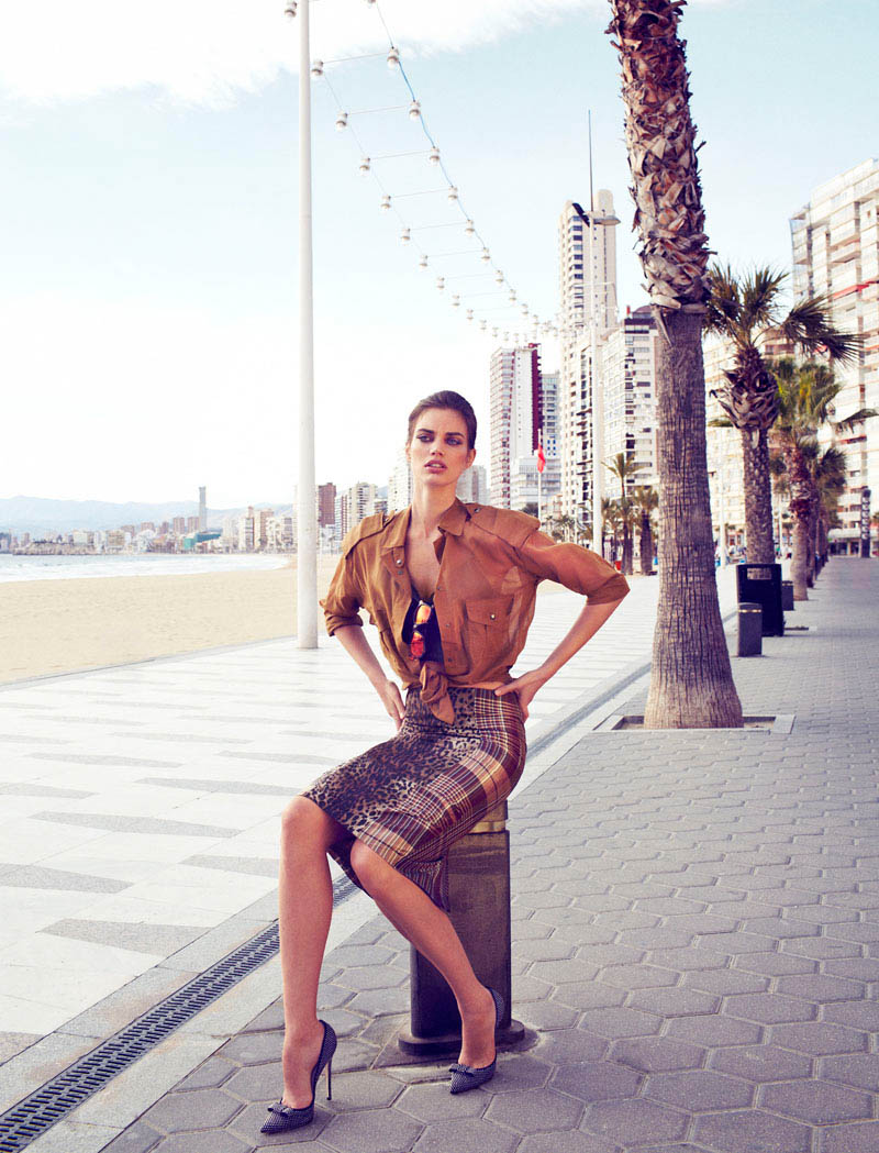 rianne ten haken elle spain8 Rianne ten Haken Poses for Xavi Gordo in Elle Spains March 2013 Cover Shoot