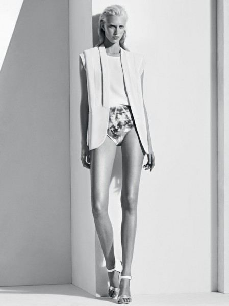 Sandro Taps Juliana Schurig for its Spring 2013 Lookbook