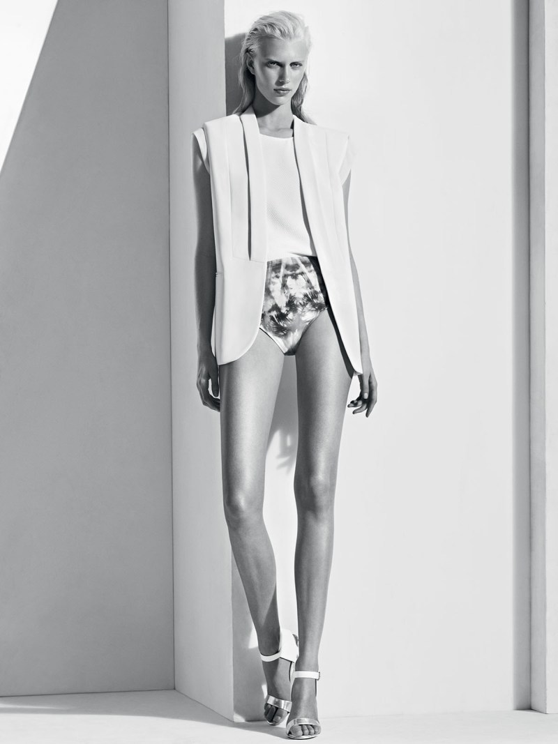 sandro spring summer1 Sandro Taps Juliana Schurig for its Spring 2013 Lookbook