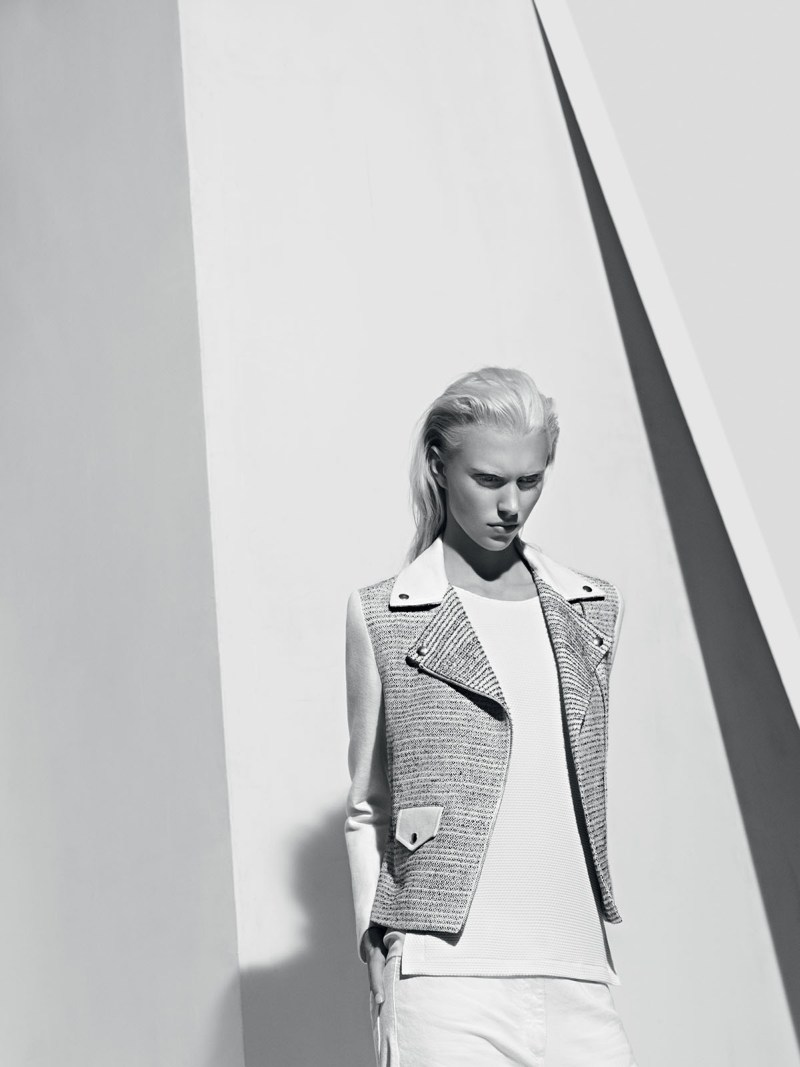 sandro spring summer11 Sandro Taps Juliana Schurig for its Spring 2013 Lookbook