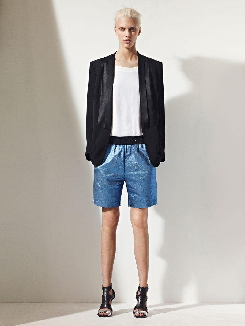 sandro spring summer12 Sandro Taps Juliana Schurig for its Spring 2013 Lookbook