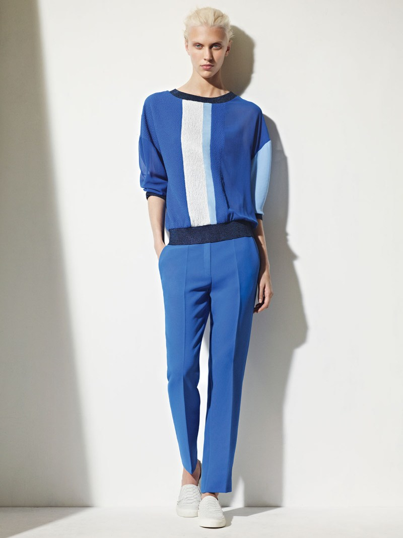 sandro spring summer13 Sandro Taps Juliana Schurig for its Spring 2013 Lookbook