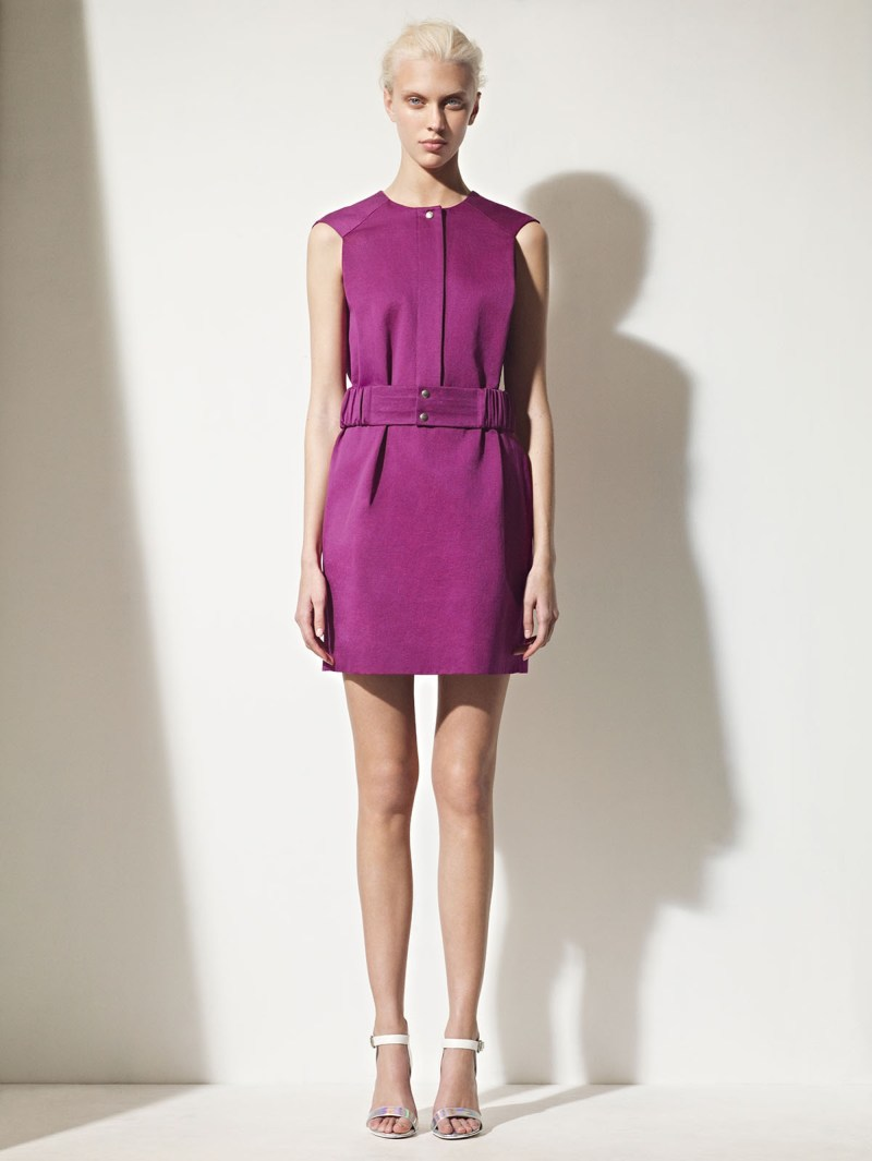 sandro spring summer14 Sandro Taps Juliana Schurig for its Spring 2013 Lookbook