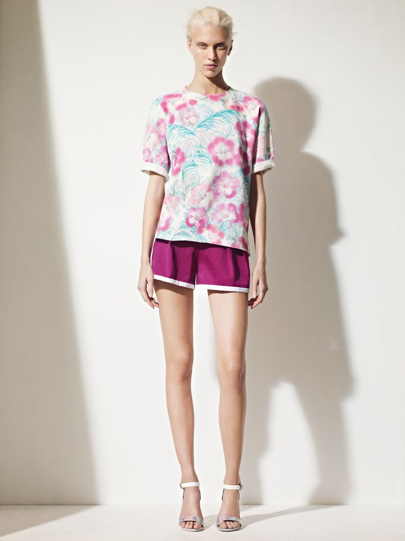 sandro spring summer15 Sandro Taps Juliana Schurig for its Spring 2013 Lookbook