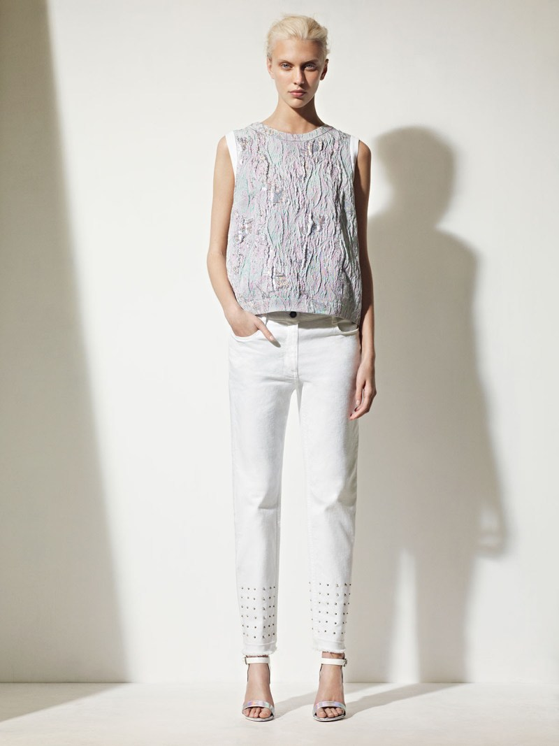 sandro spring summer16 Sandro Taps Juliana Schurig for its Spring 2013 Lookbook