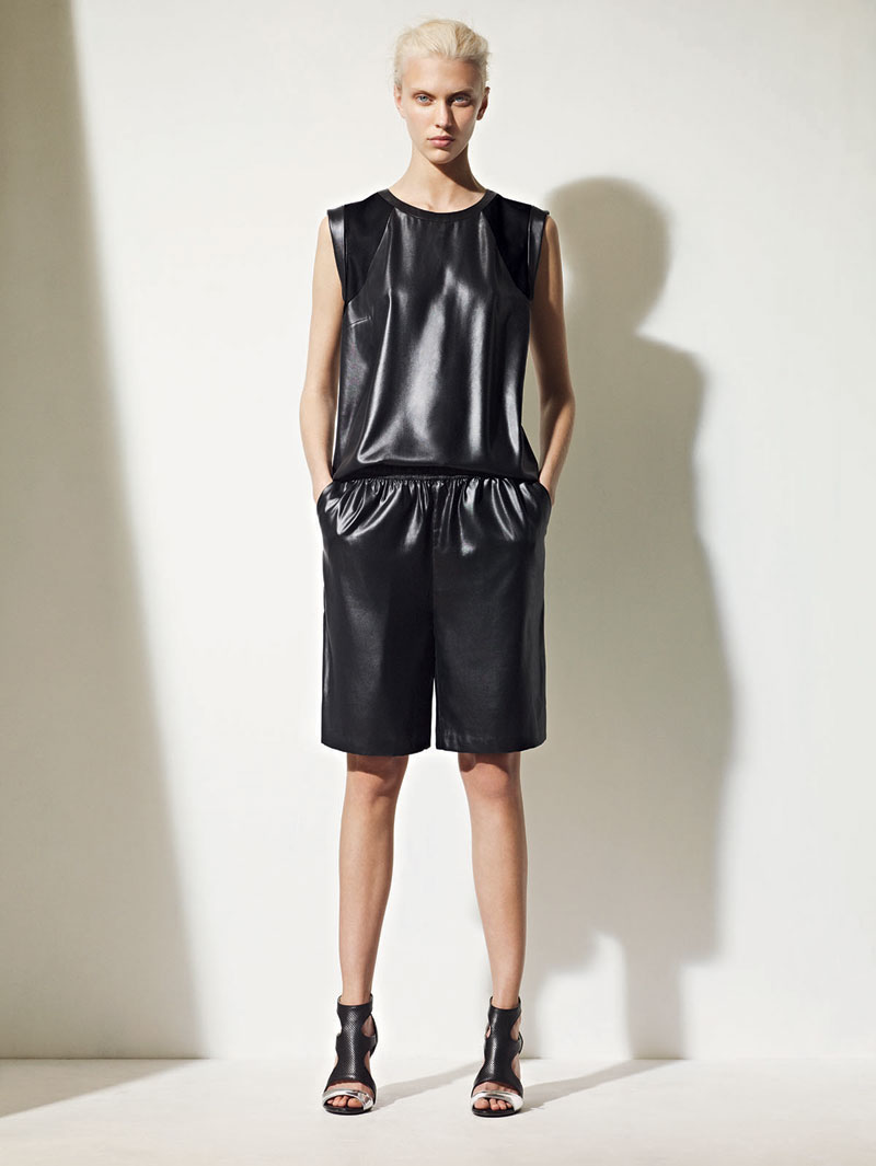 sandro spring summer20 Sandro Taps Juliana Schurig for its Spring 2013 Lookbook