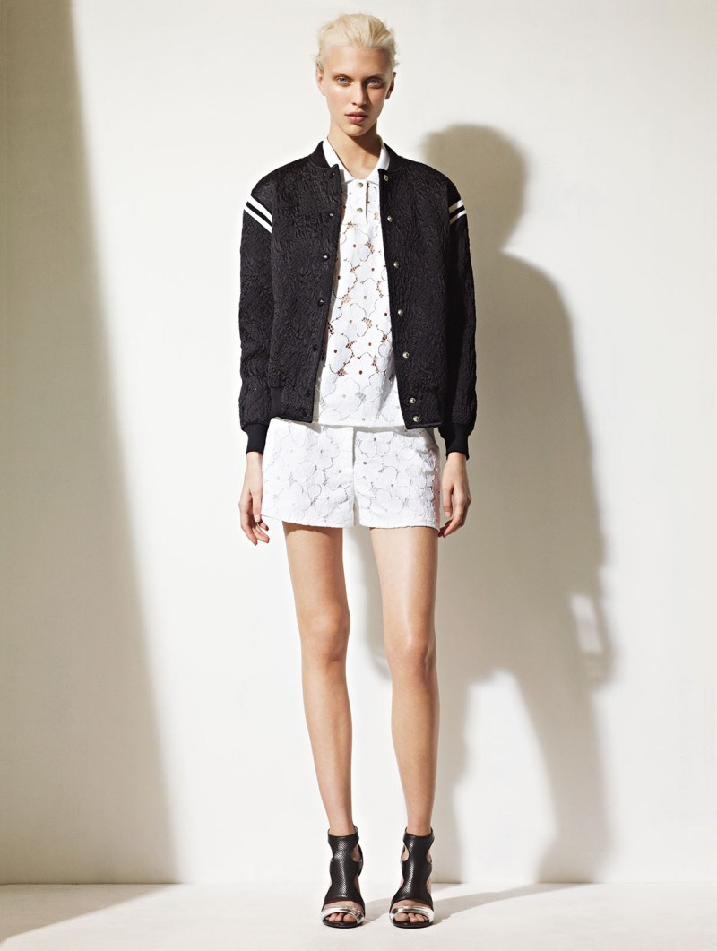 sandro spring summer21 Sandro Taps Juliana Schurig for its Spring 2013 Lookbook