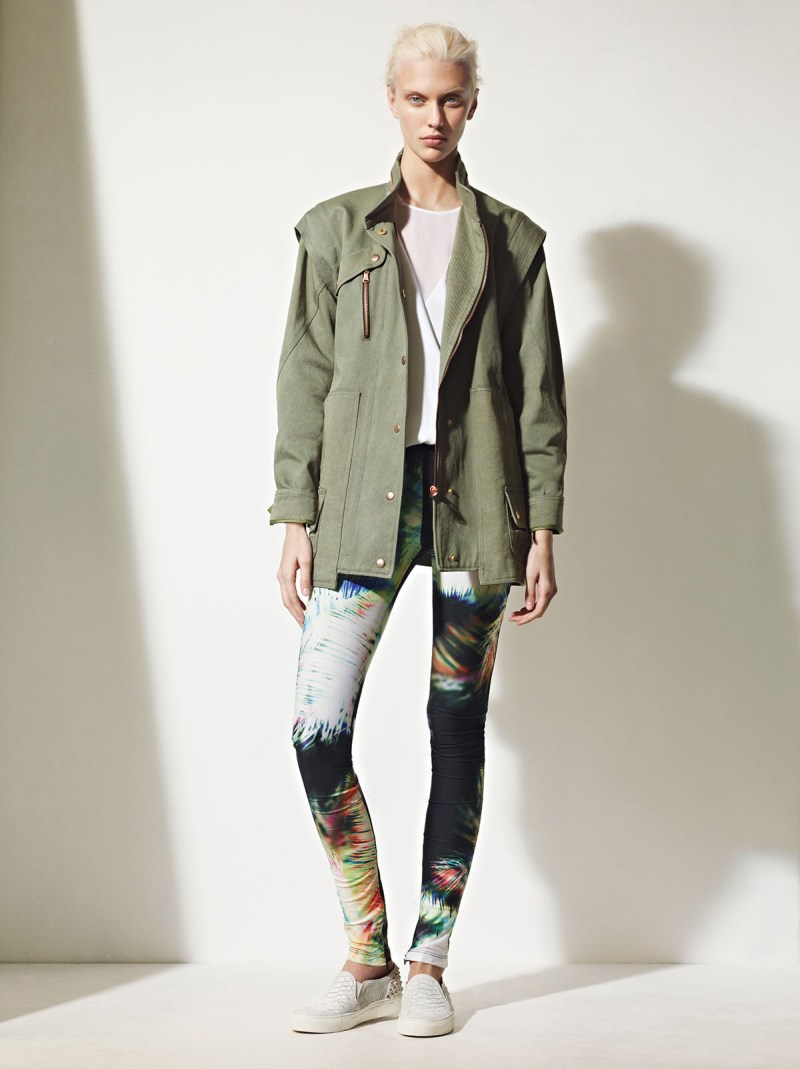 sandro spring summer23 Sandro Taps Juliana Schurig for its Spring 2013 Lookbook