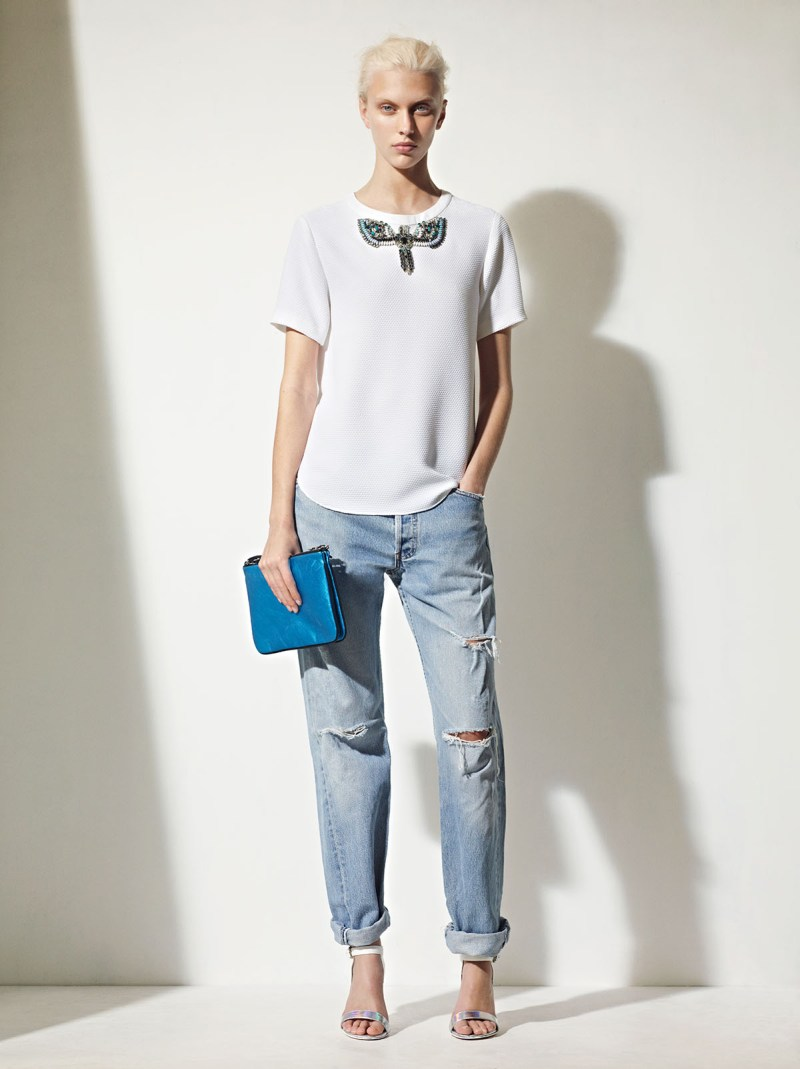 sandro spring summer24 Sandro Taps Juliana Schurig for its Spring 2013 Lookbook