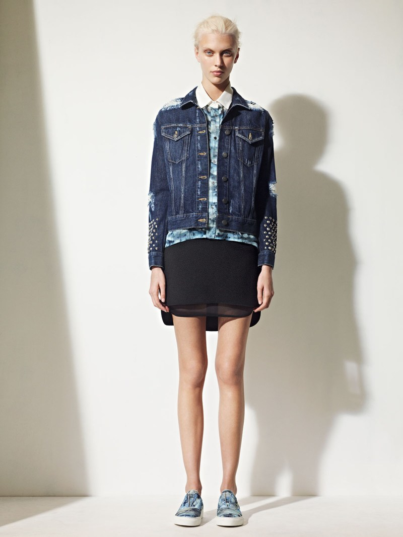 sandro spring summer25 Sandro Taps Juliana Schurig for its Spring 2013 Lookbook