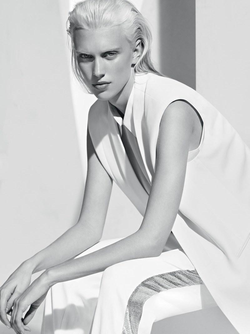 Sandro Taps Juliana Schurig for its Spring 2013 Lookbook