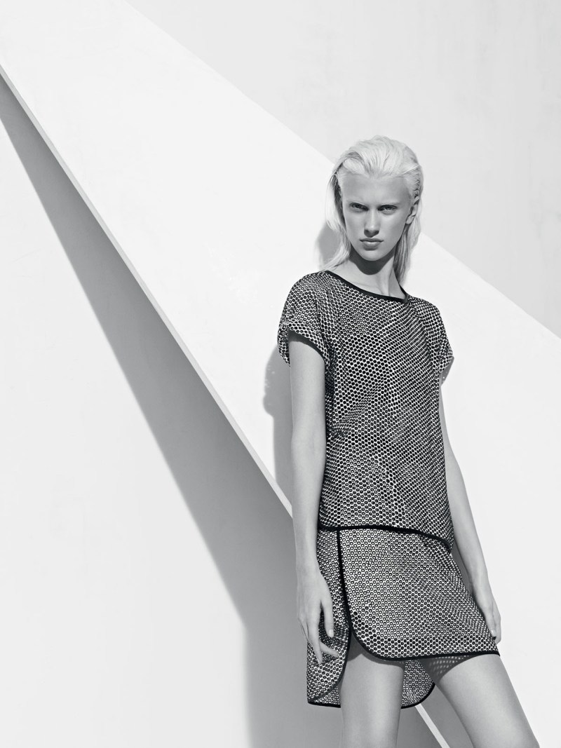 sandro spring summer8 Sandro Taps Juliana Schurig for its Spring 2013 Lookbook