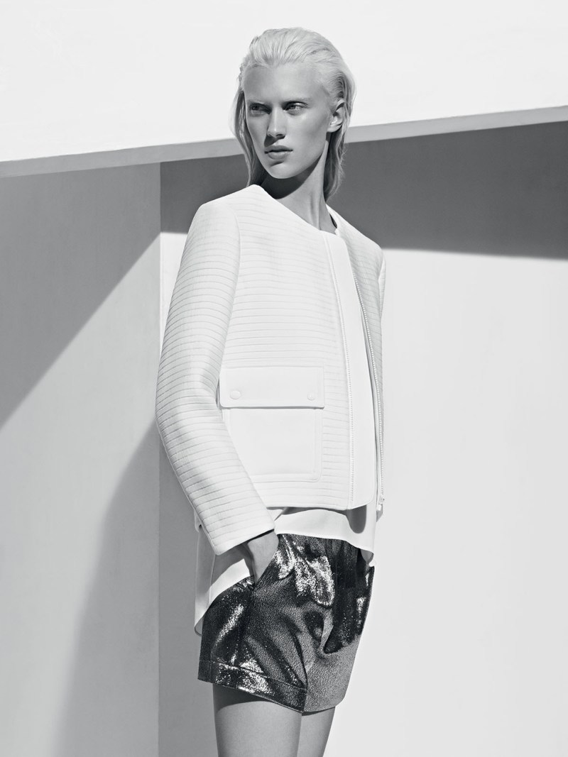 sandro spring summer9 Sandro Taps Juliana Schurig for its Spring 2013 Lookbook