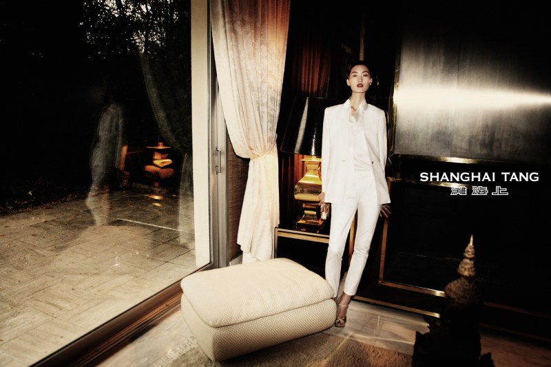 shanghai tang campaign lina zhang1 Lina Zhang Stars in Shanghai Tangs Spring 2013 Campaign by Richard Bernardin