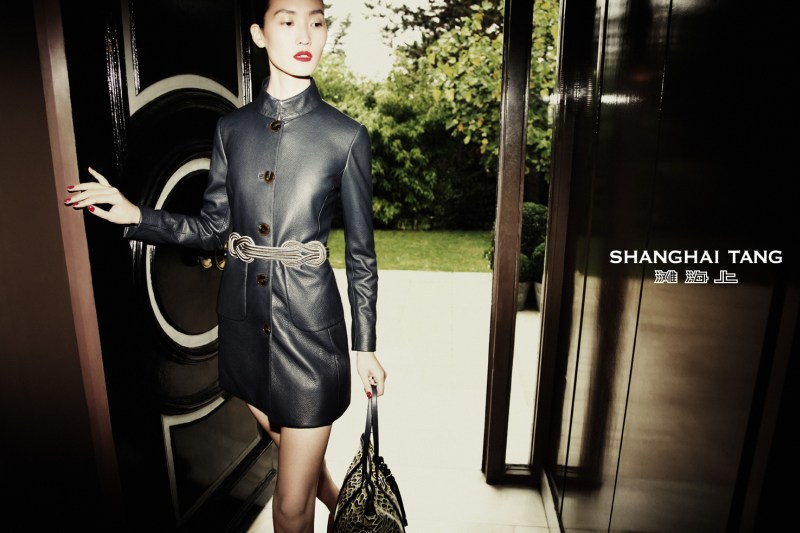 Lina Zhang Stars in Shanghai Tang's Spring 2013 Campaign by Richard Bernardin