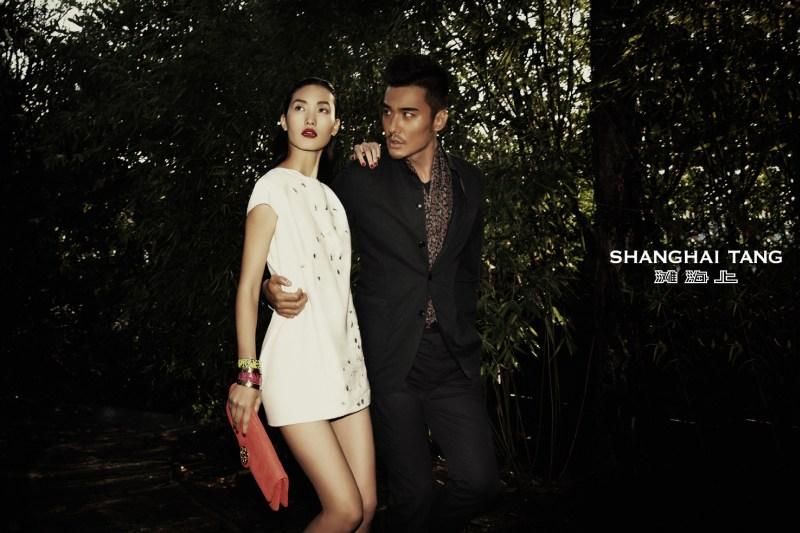 shanghai tang campaign lina zhang5 Lina Zhang Stars in Shanghai Tangs Spring 2013 Campaign by Richard Bernardin