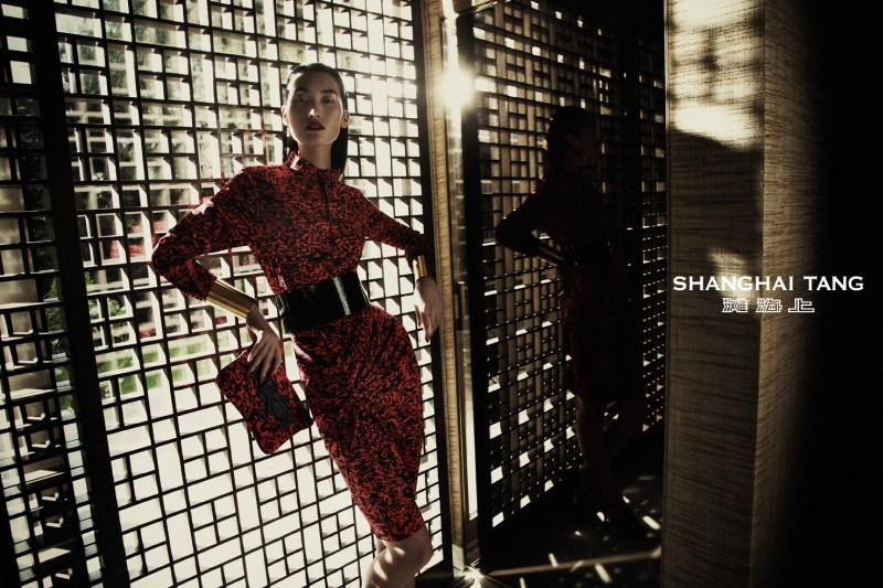 shanghai tang campaign lina zhang6 Lina Zhang Stars in Shanghai Tangs Spring 2013 Campaign by Richard Bernardin