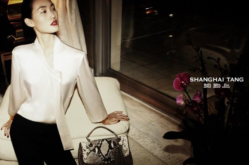 shanghai tang campaign lina zhang7 Lina Zhang Stars in Shanghai Tangs Spring 2013 Campaign by Richard Bernardin
