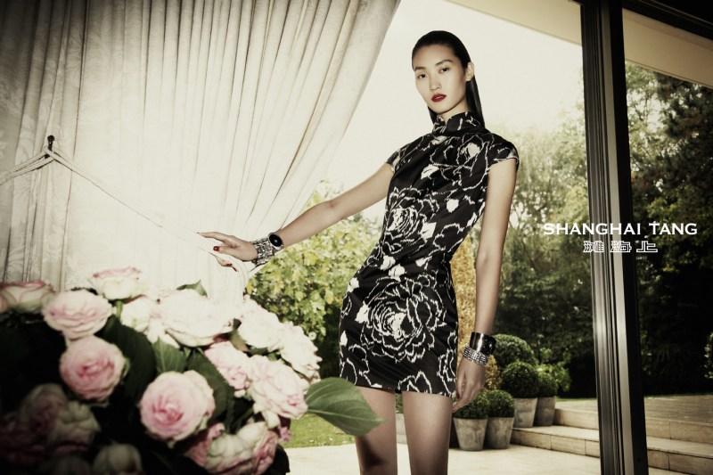 shanghai tang campaign lina zhang9 Lina Zhang Stars in Shanghai Tangs Spring 2013 Campaign by Richard Bernardin