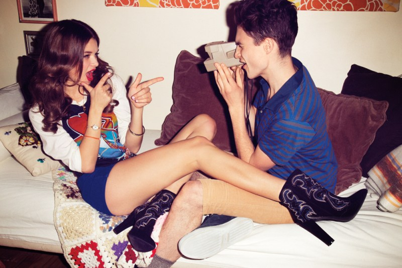steve madden little foxes3 Steve Madden Gets Playful with Spring 2013 Trendbook
