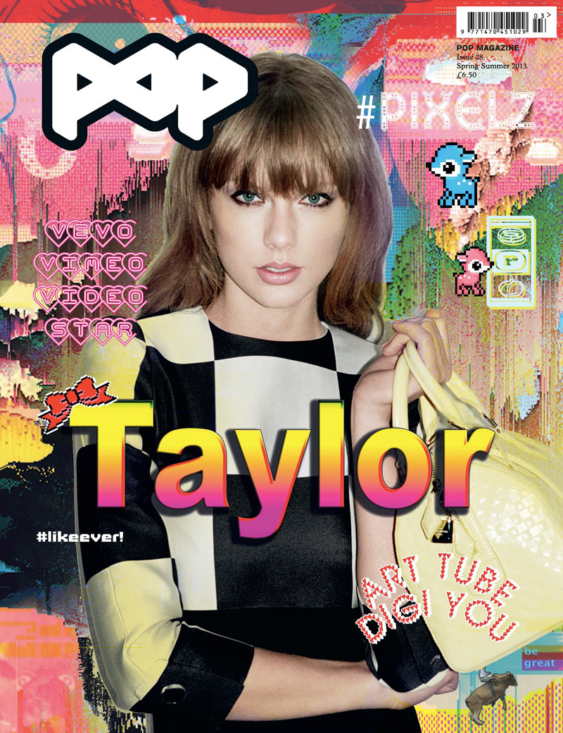 Taylor Swift Covers POP's Spring/Summer Issue in Louis Vuitton