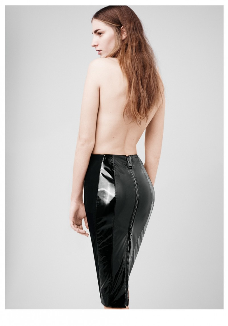Ros Georgiou Sports Minimal Luxe for Elle US March 2013 by Thomas Whiteside