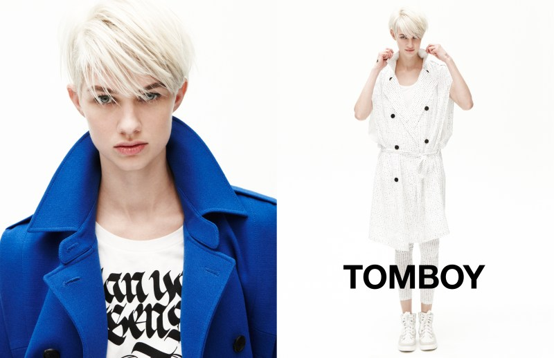 tomboy spring campaign1 Harmony Boucher Keeps it Cool in Tomboys Spring 2013 Campaign