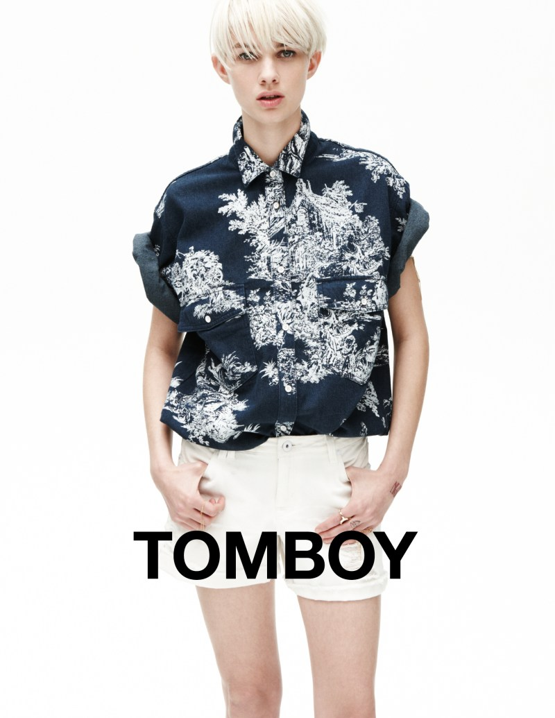 tomboy spring campaign3 Harmony Boucher Keeps it Cool in Tomboys Spring 2013 Campaign