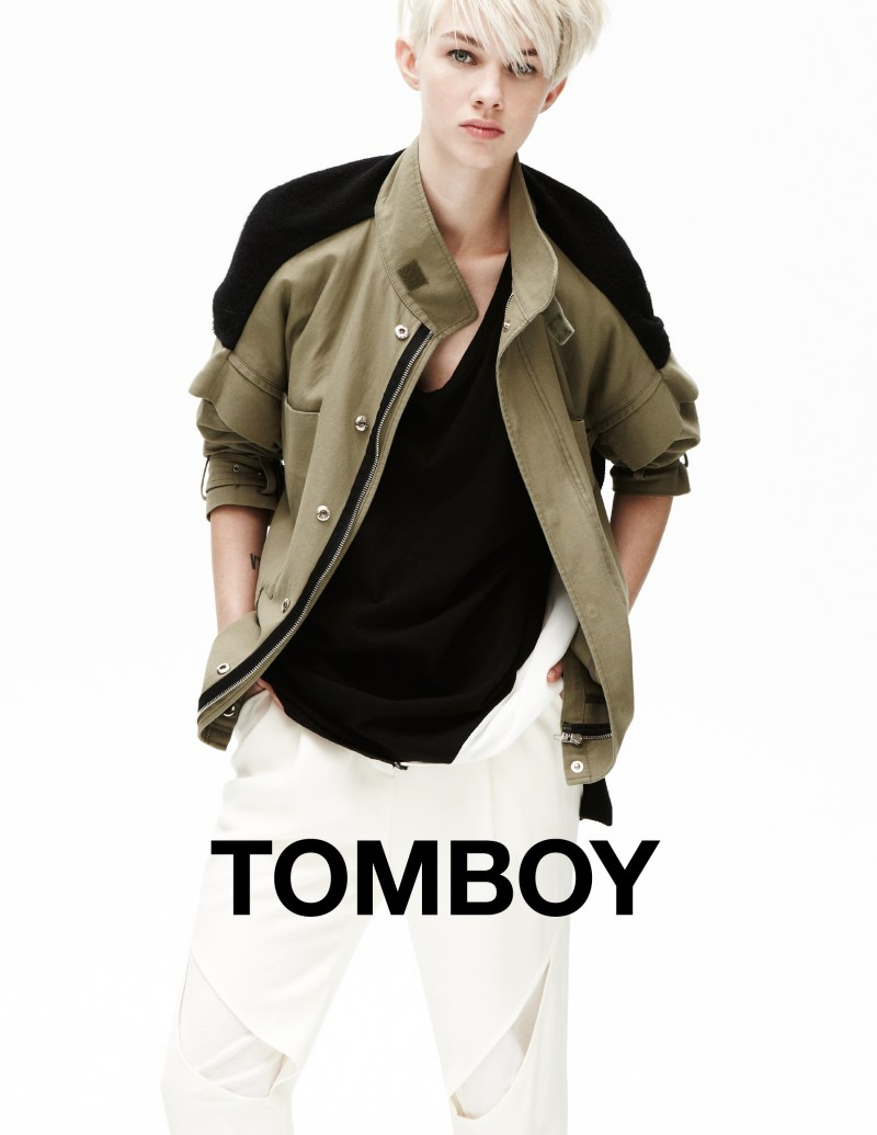 tomboy spring campaign4 Harmony Boucher Keeps it Cool in Tomboys Spring 2013 Campaign