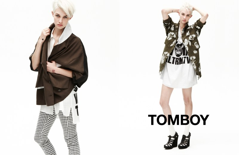 tomboy spring campaign5 Harmony Boucher Keeps it Cool in Tomboys Spring 2013 Campaign