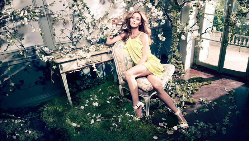 Vanessa Paradis Enchants in H&M's Spring 2013 Conscious Campaign by Camilla Akrans