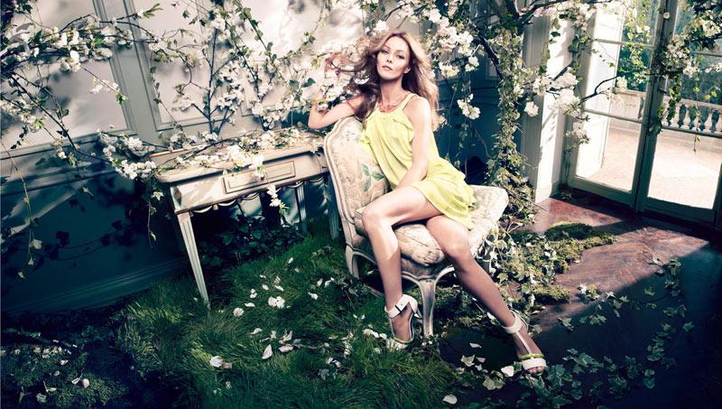 vanessa paradis hm conscious campaign10 Vanessa Paradis Enchants in H&Ms Spring 2013 Conscious Campaign by Camilla Akrans