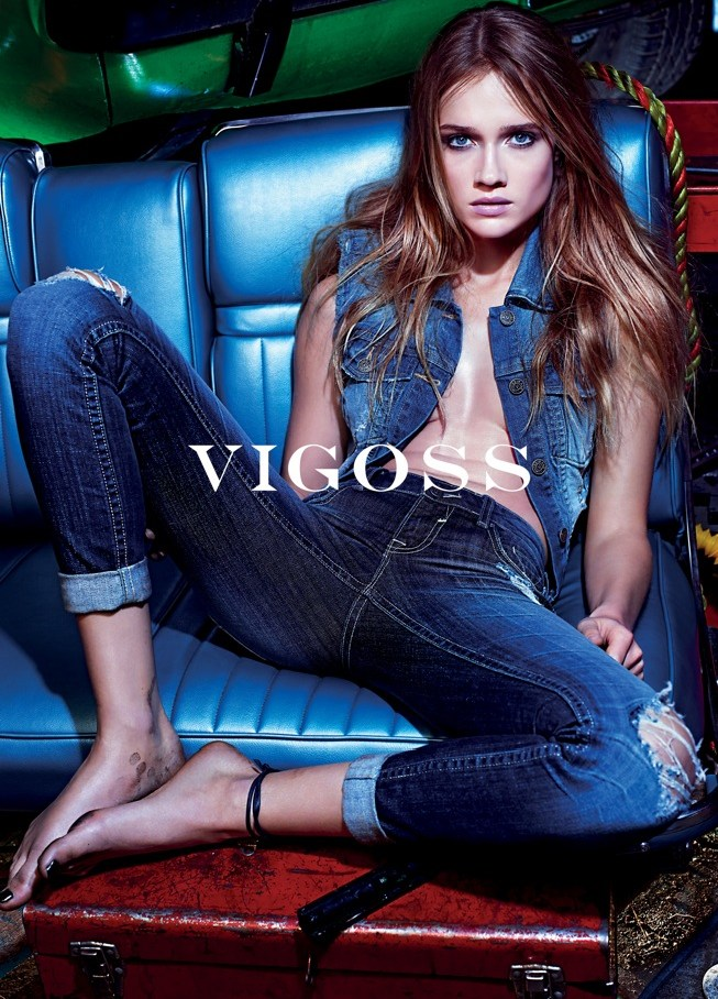 Vigoss Taps Florrie for its Spring 2013 Campaign by Mario Sorrenti