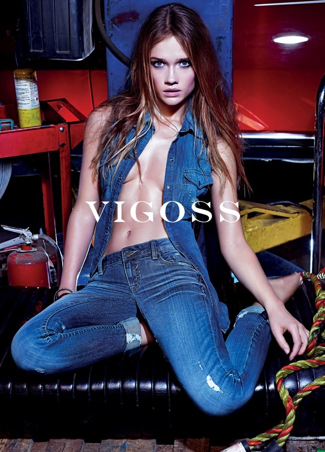 vigoss spring campaign2 Vigoss Taps Florrie for its Spring 2013 Campaign by Mario Sorrenti