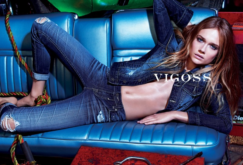 vigoss spring campaign3 Vigoss Taps Florrie for its Spring 2013 Campaign by Mario Sorrenti