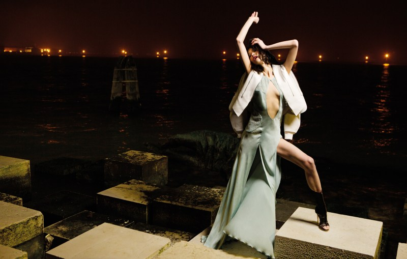 w korea gianluca fontana8 Karlina Caune and Hye Jung Lee Enchant for W Koreas March Issue by Gianluca Fontana