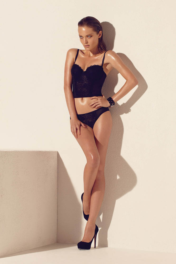 wMax Abadian Blush S13 1 Olga Maliouk Poses for Max Abadian in Blush Lingeries Spring 2013 Campaign