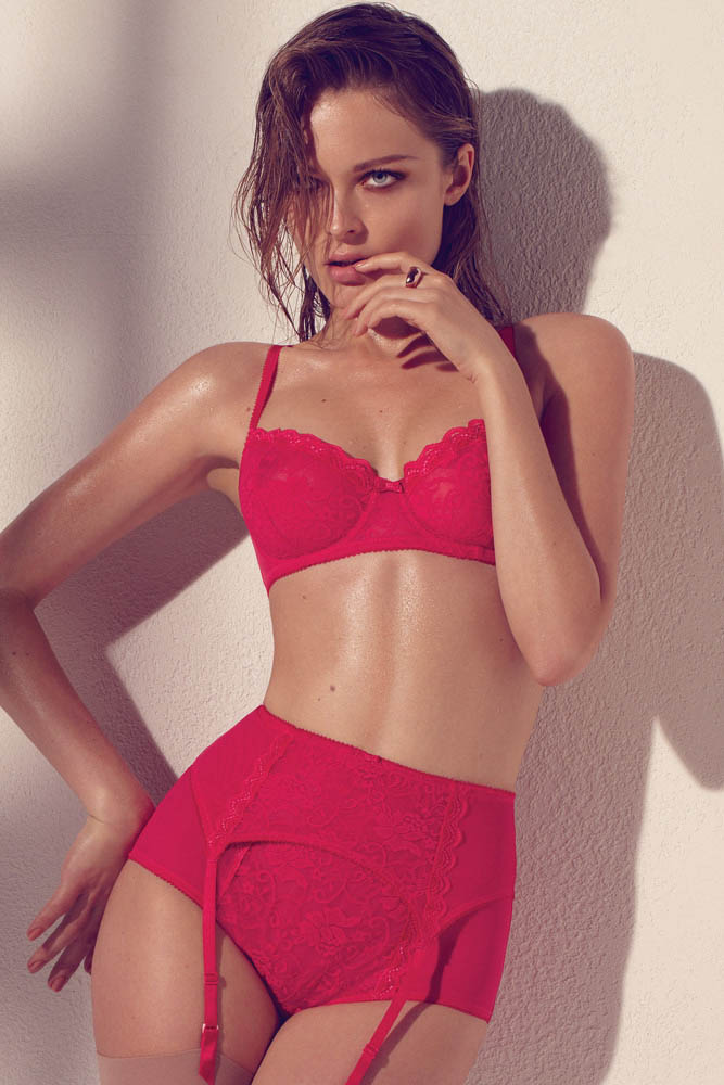wMax Abadian Blush S13 14 Olga Maliouk Poses for Max Abadian in Blush Lingeries Spring 2013 Campaign