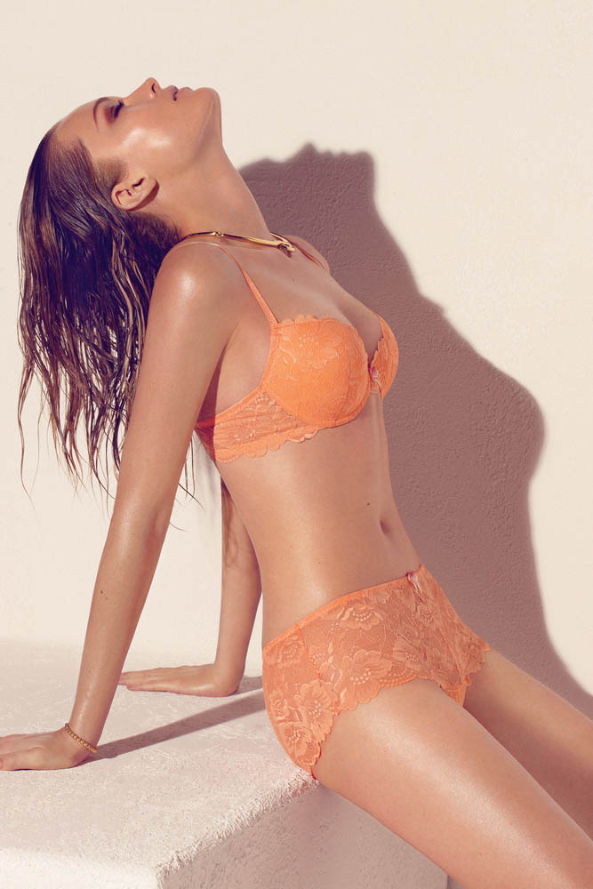 wMax Abadian Blush S13 2 Olga Maliouk Poses for Max Abadian in Blush Lingeries Spring 2013 Campaign