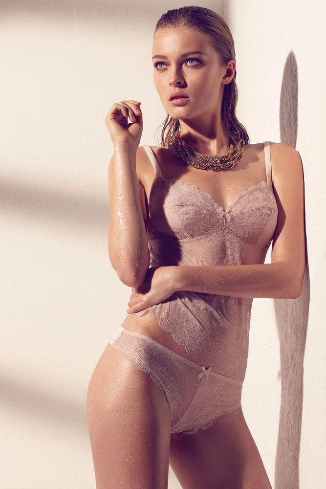 wMax Abadian Blush S13 9 Olga Maliouk Poses for Max Abadian in Blush Lingeries Spring 2013 Campaign
