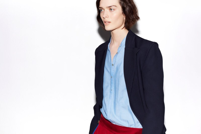 zara february lookbook1 Zara Taps Sam Rollinson for its February Lookbook