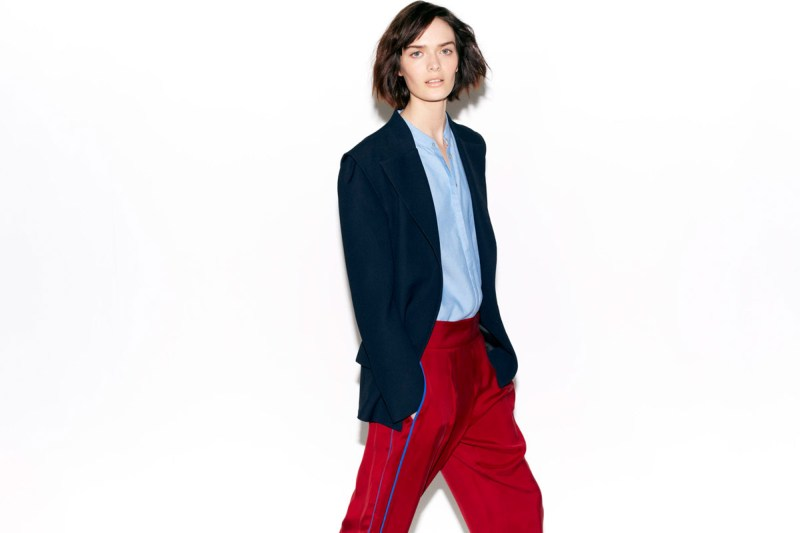 zara february lookbook2 Zara Taps Sam Rollinson for its February Lookbook